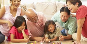 Family Activities Learning With Grand Parents