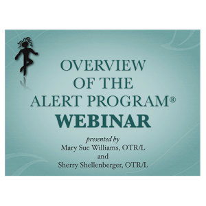Overview of the Alert Program Webinar
